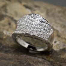 แหวนเพชร แหวนเงินแท้