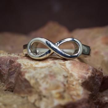 แหวนอินฟินิตี้ แหวนเงินแท้ Infinity #2