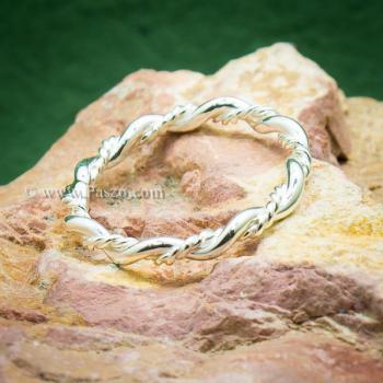 แหวนเถาวัลย์ แหวนเงินแท้ แหวนพันเกลียว #4