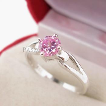 แหวนพลอยสีชมพู แหวนโทพาซสีชมพู PinkTopaz #2