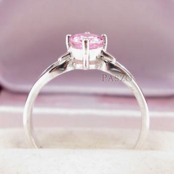 แหวนพลอยสีชมพู แหวนโทพาซสีชมพู PinkTopaz #4