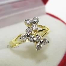 แหวนดอกลำดวน แหวนเพชร แหวนทองชุบ แหวนดอกไม้