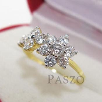 แหวนดอกไม้ แหวนดอกพิกุล แหวนเพชร #2