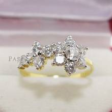 แหวนดอกไม้ แหวนดอกพิกุล แหวนเพชร แหวนทองชุบ