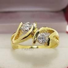 แหวนเพชร แหวนพลอยคู่ แหวนทองชุบ
