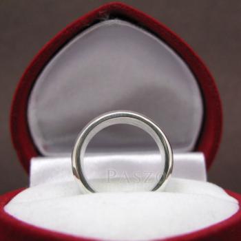 แหวนเกลี้ยงหน้าโค้ง กว้าง4มิล แหวนปลอกมีด #3
