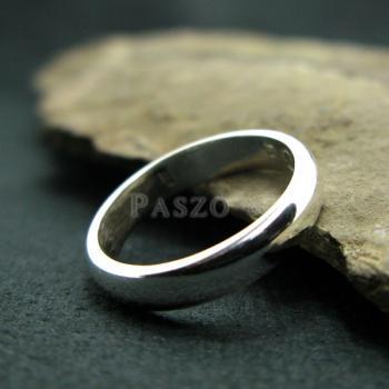 แหวนเกลี้ยงหน้าโค้ง กว้าง3มิล แหวนปลอกมีด #2