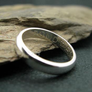 แหวนเกลี้ยงหน้าโค้ง กว้าง3มิล แหวนปลอกมีด #3
