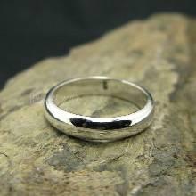 แหวนเกลี้ยงหน้าโค้ง กว้าง3มิล แหวนปลอกมีด แหวนขอบมน แหวนเงินแท้ แหวนเงินเกลี้ยง