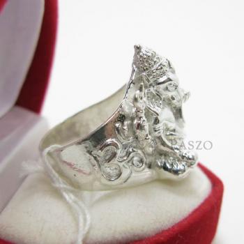 แหวนพระพิฆเนศ แหวนองค์พระพิฆเนศ แหวนเงินแท้ #4
