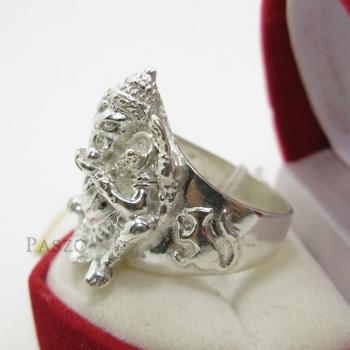แหวนพระพิฆเนศ แหวนองค์พระพิฆเนศ แหวนเงินแท้ #5