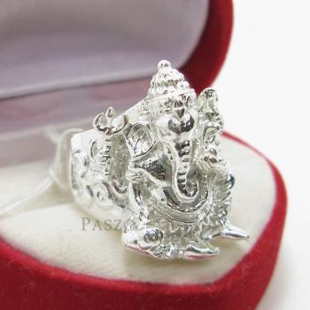 แหวนพระพิฆเนศ แหวนองค์พระพิฆเนศ แหวนเงินแท้ #6