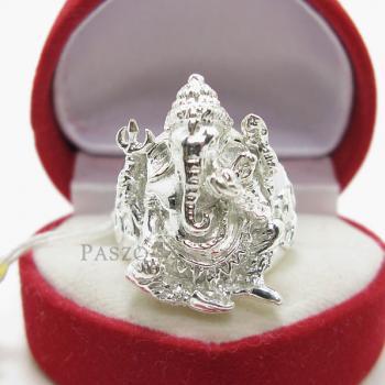 แหวนพระพิฆเนศ แหวนองค์พระพิฆเนศ แหวนเงินแท้ #7