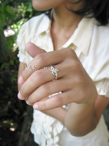 แหวนหมีเท็ดดี้แบร์ แหวนตุ๊กตาหมี แหวนเงินแท้ #4