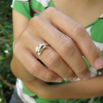 แหวนปลาโลมา แหวนเงินแท้ 925 #5