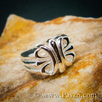 แหวนพันธะสัญญา แหวนบ่วงแห่งความรัก แหวนเงินแท้ #2