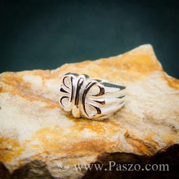 แหวนพันธะสัญญา แหวนบ่วงแห่งความรัก แหวนเงินแท้ #3