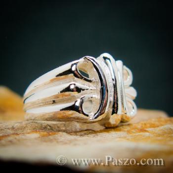 แหวนพันธะสัญญา แหวนบ่วงแห่งความรัก แหวนเงินแท้ #5