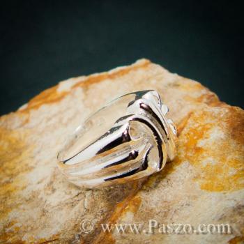 แหวนพันธะสัญญา แหวนบ่วงแห่งความรัก แหวนเงินแท้ #6