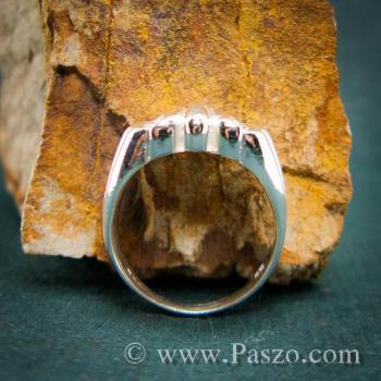 แหวนพันธะสัญญา แหวนบ่วงแห่งความรัก แหวนเงินแท้ #7