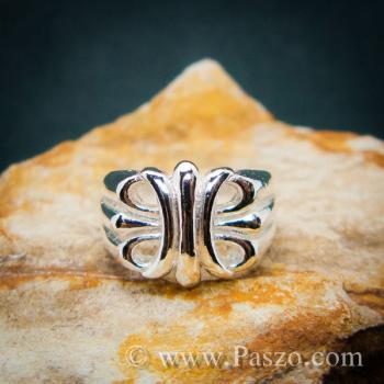 แหวนพันธะสัญญา แหวนบ่วงแห่งความรัก แหวนเงินแท้ #4