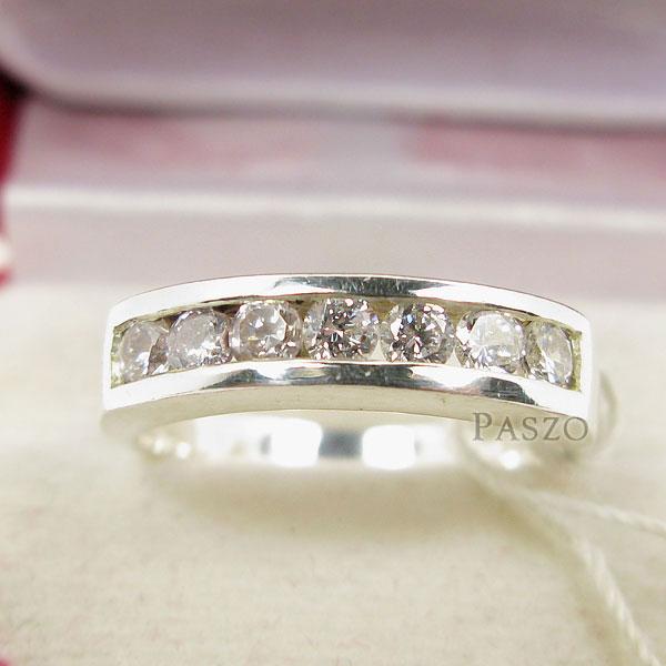 แหวนเพชร 7เม็ด แหวนแถว #4