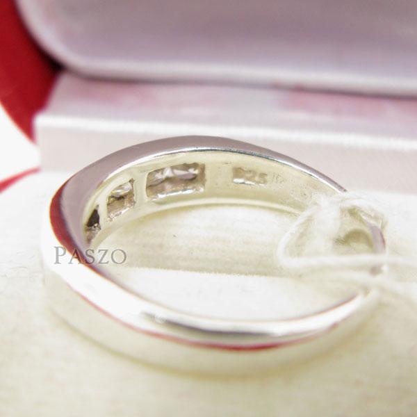 แหวนเพชร 7เม็ด แหวนแถว #5