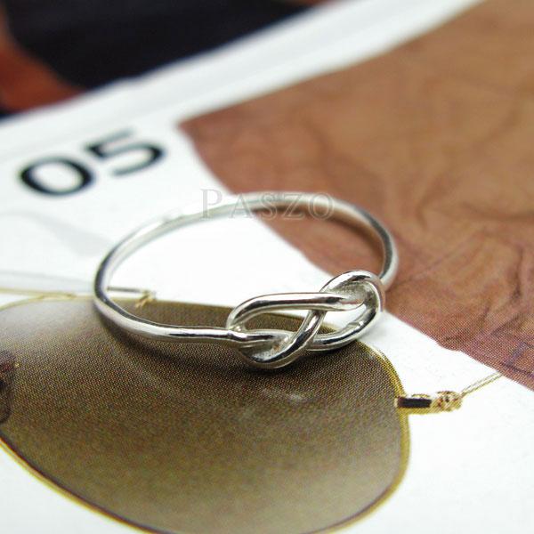 แหวนแห่งรักนิรันดร์ แหวนเงินแท้ infinity #2