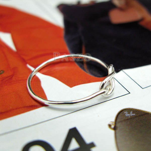 แหวนแห่งรักนิรันดร์ แหวนเงินแท้ infinity #5