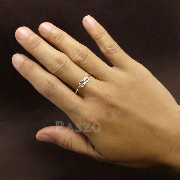 แหวนแห่งรักนิรันดร์ แหวนเงินแท้ infinity #6