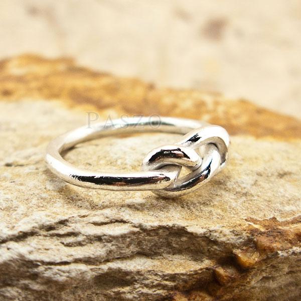 แหวนแห่งรักนิรันดร์ แหวนเงินแท้ แหวนอินฟินิตี้ #2