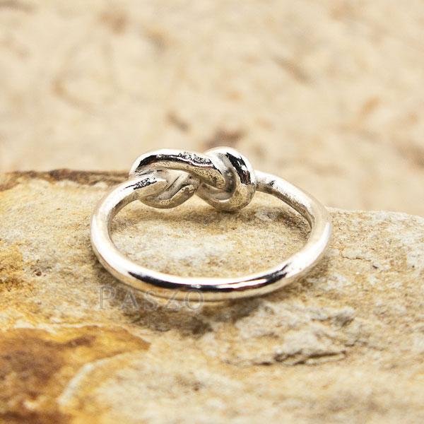 แหวนแห่งรักนิรันดร์ แหวนเงินแท้ แหวนอินฟินิตี้ #4