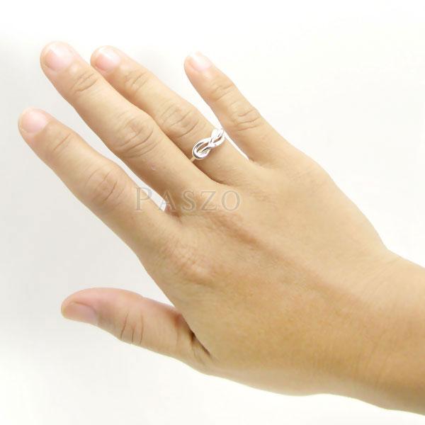 แหวนแห่งรักนิรันดร์ แหวนเงินแท้ แหวนอินฟินิตี้ #5