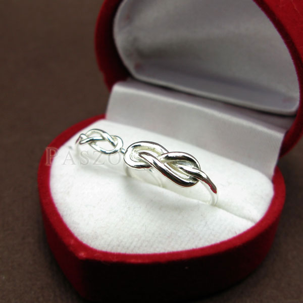 ชุดแหวนคู่รัก แหวนเงินคู่ แหวนแห่งรักนิรันด์ #2