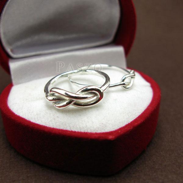 ชุดแหวนคู่รัก แหวนเงินคู่ แหวนแห่งรักนิรันด์ #3