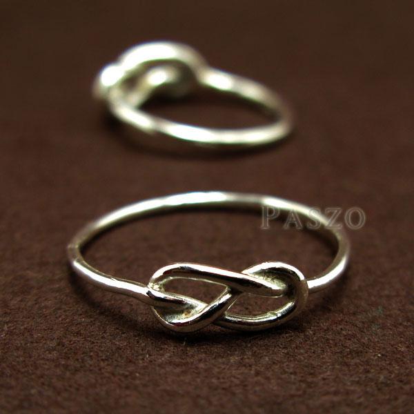 ชุดแหวนคู่รัก แหวนเงินคู่ แหวนแห่งรักนิรันด์ #4