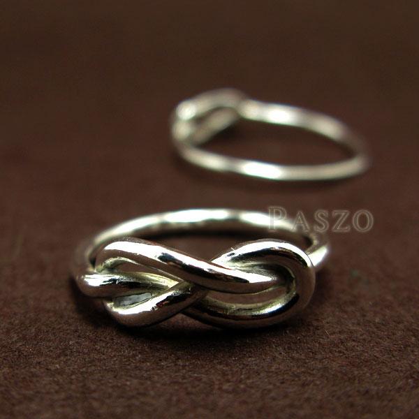 ชุดแหวนคู่รัก แหวนเงินคู่ แหวนแห่งรักนิรันด์ #5