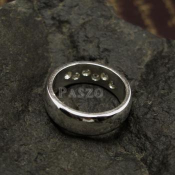 แหวนเพชร แหวนเกลี้ยง 6เม็ด #6