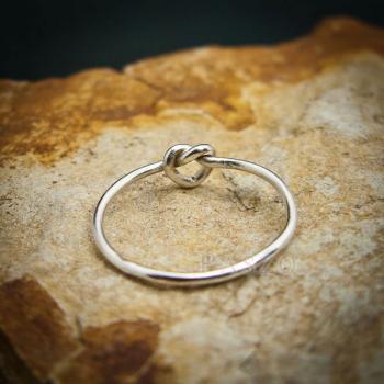 แหวนเงิน รูปหัวใจ แหวนเงินแท้ #2