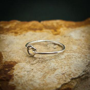 แหวนเงิน รูปหัวใจ แหวนเงินแท้ #4