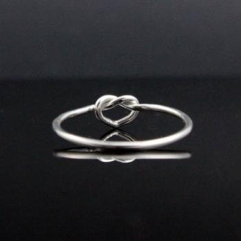 แหวนเงิน รูปหัวใจ แหวนเงินแท้ #5