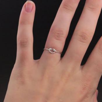 แหวนเงิน รูปหัวใจ แหวนเงินแท้ #6