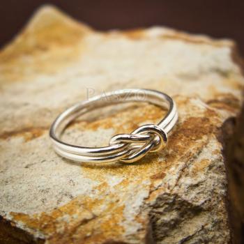 แหวนเงิน เงื่อนพิรอด แหวนเงินแท้ #2
