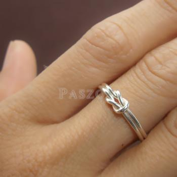 แหวนเงิน เงื่อนพิรอด แหวนเงินแท้ #6