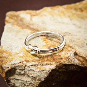แหวนเงิน เงื่อนพิรอด แหวนเงินแท้ #3