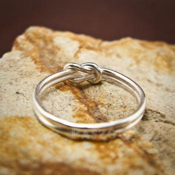 แหวนเงิน เงื่อนพิรอด แหวนเงินแท้ #4