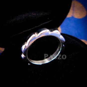 แหวนกงจักร แหวนเงินแท้  #2