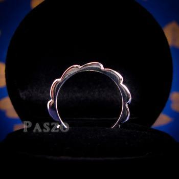 แหวนกงจักร แหวนเงินแท้  #4