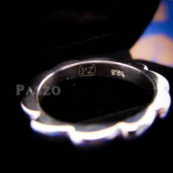 แหวนกงจักร แหวนเงินแท้  #6