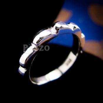 แหวนกงจักร แหวนเงินแท้  #8